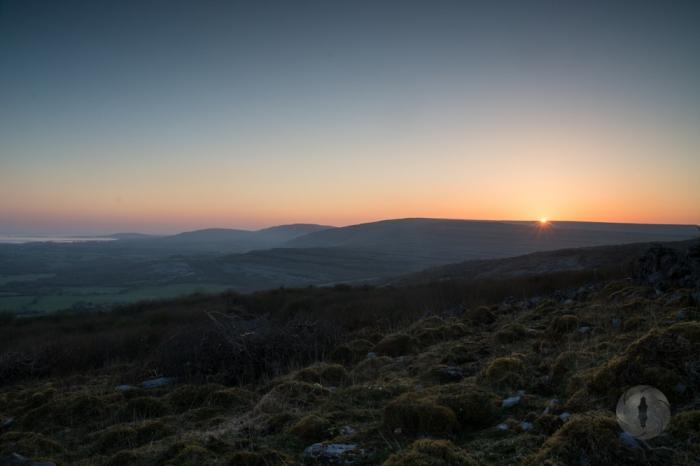 Burren sunrise